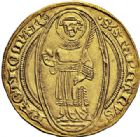 Photo numismatique  ARCHIVES VENTE 2015 -26-28 oct -Coll Jean Teitgen CITE IMPÉRIALE DE METZ Monnayage d'or  834- Florin d'or, (à partir de 1415).
