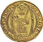 Photo numismatique  ARCHIVES VENTE 2015 -26-28 oct -Coll Jean Teitgen CITE IMPÉRIALE DE METZ Monnayage d'or  834- Florin d'or, (à partir de 1415).