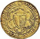 Photo numismatique  ARCHIVES VENTE 2015 -26-28 oct -Coll Jean Teitgen CITE IMPÉRIALE DE METZ Monnayage d'or  835- Florin d'or, (à partir de 1415).