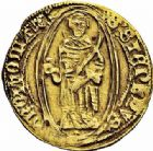 Photo numismatique  ARCHIVES VENTE 2015 -26-28 oct -Coll Jean Teitgen CITE IMPÉRIALE DE METZ Monnayage d'or  836- Florin d'or, (à partir de 1415).
