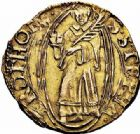 Photo numismatique  ARCHIVES VENTE 2015 -26-28 oct -Coll Jean Teitgen CITE IMPERIALE DE METZ Monnayage d'or  837- Florin d'or, (1567-1619).