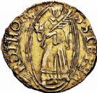 Photo numismatique  ARCHIVES VENTE 2015 -26-28 oct -Coll Jean Teitgen CITE IMPÉRIALE DE METZ Monnayage d'or  837- Florin d'or, (1567-1619).
