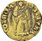 Photo numismatique  ARCHIVES VENTE 2015 -26-28 oct -Coll Jean Teitgen CITE IMPÉRIALE DE METZ Monnayage d'or  838- Florin d'or, (1567-1619).