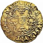 Photo numismatique  ARCHIVES VENTE 2015 -26-28 oct -Coll Jean Teitgen CITE IMPERIALE DE METZ Monnayage d'or  838- Florin d'or, (1567-1619).