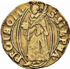 Photo numismatique  ARCHIVES VENTE 2015 -26-28 oct -Coll Jean Teitgen CITE IMPERIALE DE METZ Monnayage d'or  839- Florin d'or, (1567-1619).