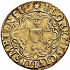 Photo numismatique  ARCHIVES VENTE 2015 -26-28 oct -Coll Jean Teitgen CITE IMPERIALE DE METZ Monnayage d'or  840- Florin d'or, 1620.