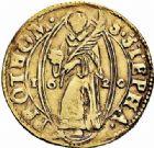 Photo numismatique  ARCHIVES VENTE 2015 -26-28 oct -Coll Jean Teitgen CITE IMPÉRIALE DE METZ Monnayage d'or  841- Florin d'or, 1620.