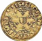 Photo numismatique  ARCHIVES VENTE 2015 -26-28 oct -Coll Jean Teitgen CITE IMPÉRIALE DE METZ Monnayage d'or  841- Florin d'or, 1620.