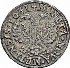 Photo numismatique  ARCHIVES VENTE 2015 -26-28 oct -Coll Jean Teitgen CITE IMPERIALE DE METZ Monnayage d'argent  843- Thaler à l'aigle bicéphale, 1631.