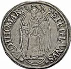 Photo numismatique  ARCHIVES VENTE 2015 -26-28 oct -Coll Jean Teitgen CITE IMPERIALE DE METZ Monnayage d'argent  845- Thaler à l'écu simple, 1638.