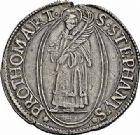 Photo numismatique  ARCHIVES VENTE 2015 -26-28 oct -Coll Jean Teitgen CITE IMPERIALE DE METZ Monnayage d'argent  846- Thaler à l'écu ovale, 1638.