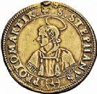 Photo numismatique  ARCHIVES VENTE 2015 -26-28 oct -Coll Jean Teitgen CITE IMPERIALE DE METZ Monnayage d'argent  848- 1/2 thaler au buste et à l'écu échancré, 1638.