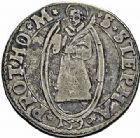 Photo numismatique  ARCHIVES VENTE 2015 -26-28 oct -Coll Jean Teitgen CITE IMPERIALE DE METZ Monnayage d'argent  850- Teston, 1er type, 1590.