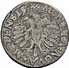 Photo numismatique  ARCHIVES VENTE 2015 -26-28 oct -Coll Jean Teitgen CITE IMPÉRIALE DE METZ Monnayage d'argent  850- Teston, 1er type, 1590.