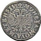Photo numismatique  ARCHIVES VENTE 2015 -26-28 oct -Coll Jean Teitgen CITE IMPÉRIALE DE METZ Monnayage d'argent  851- Teston, 2ème type, 1593.