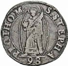 Photo numismatique  ARCHIVES VENTE 2015 -26-28 oct -Coll Jean Teitgen CITE IMPERIALE DE METZ Monnayage d'argent  852- Teston, 3ème type, 1598.