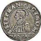 Photo numismatique  ARCHIVES VENTE 2015 -26-28 oct -Coll Jean Teitgen CITE IMPÉRIALE DE METZ Monnayage d'argent  856- 1/2 franc de 6 gros, 1621.
