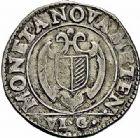 Photo numismatique  ARCHIVES VENTE 2015 -26-28 oct -Coll Jean Teitgen CITE IMPÉRIALE DE METZ Monnayage d'argent  857- 1/2 franc de 6 gros, 1623.