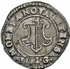 Photo numismatique  ARCHIVES VENTE 2015 -26-28 oct -Coll Jean Teitgen CITE IMPERIALE DE METZ Monnayage d'argent  859- 1/4 de franc de 3 gros, 1621.