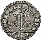 Photo numismatique  ARCHIVES VENTE 2015 -26-28 oct -Coll Jean Teitgen CITE IMPÉRIALE DE METZ Monnayage d'argent  859- 1/4 de franc de 3 gros, 1621.