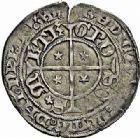 Photo numismatique  ARCHIVES VENTE 2015 -26-28 oct -Coll Jean Teitgen CITE IMPERIALE DE METZ Monnayage d'argent  863- Gros au saint Étienne agenouillé.