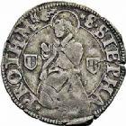 Photo numismatique  ARCHIVES VENTE 2015 -26-28 oct -Coll Jean Teitgen CITE IMPERIALE DE METZ Monnayage d'argent  866- Gros au saint agenouillé (1588-1662).
