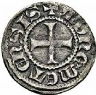 Photo numismatique  ARCHIVES VENTE 2015 -26-28 oct -Coll Jean Teitgen CITE IMPERIALE DE METZ Monnayage de billon  874- 1/2 bugne (2), type 1, croix non cantonnée (1334 - environ 1385…).