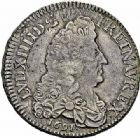 Photo numismatique  ARCHIVES VENTE 2015 -26-28 oct -Coll Jean Teitgen ATELIER ROYAL DE METZ LOUIS XIV (14 mai 1643-1er septembre 1715)  894- 1/2 écu aux huit L, Metz (M couronnée) 1691.