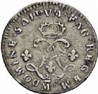 Photo numismatique  ARCHIVES VENTE 2015 -26-28 oct -Coll Jean Teitgen ATELIER ROYAL DE METZ LOUIS XIV (14 mai 1643-1er septembre 1715)  896- Quatre sols aux 2 L couronnées, Metz (M couronnée) 1692, (AA) 1694.