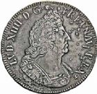 Photo numismatique  ARCHIVES VENTE 2015 -26-28 oct -Coll Jean Teitgen ATELIER ROYAL DE METZ LOUIS XIV (14 mai 1643-1er septembre 1715)  897- Écu aux palmes, Metz (AA) 1693.