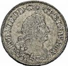 Photo numismatique  ARCHIVES VENTE 2015 -26-28 oct -Coll Jean Teitgen ATELIER ROYAL DE METZ LOUIS XIV (14 mai 1643-1er septembre 1715)  900- 1/2 écu aux palmes, Metz (AA) 1694.