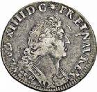 Photo numismatique  ARCHIVES VENTE 2015 -26-28 oct -Coll Jean Teitgen ATELIER ROYAL DE METZ LOUIS XIV (14 mai 1643-1er septembre 1715)  901- 1/4 d'écu aux palmes, Metz (1693).