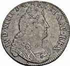 Photo numismatique  ARCHIVES VENTE 2015 -26-28 oct -Coll Jean Teitgen ATELIER ROYAL DE METZ LOUIS XIV (14 mai 1643-1er septembre 1715)  906- Écu aux 8 L, 2ème type, Metz 1704.