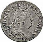 Photo numismatique  ARCHIVES VENTE 2015 -26-28 oct -Coll Jean Teitgen ATELIER ROYAL DE METZ LOUIS XIV (14 mai 1643-1er septembre 1715)  908- 10 sols aux quatre couronnes, Metz 1706.