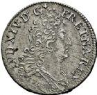 Photo numismatique  ARCHIVES VENTE 2015 -26-28 oct -Coll Jean Teitgen ATELIER ROYAL DE METZ LOUIS XIV (14 mai 1643-1er septembre 1715)  909- 10 sols aux quatre couronnes, Metz 1707.