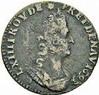 Photo numismatique  ARCHIVES VENTE 2015 -26-28 oct -Coll Jean Teitgen ATELIER ROYAL DE METZ LOUIS XIV (14 mai 1643-1er septembre 1715)  914- Liard de France au buste âgé, Metz (M couronnée) 1693 (2), (AA) 1697.