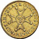 Photo numismatique  ARCHIVES VENTE 2015 -26-28 oct -Coll Jean Teitgen ATELIER ROYAL DE METZ LOUIS XV (1715-1774)  915- Louis d'or à la croix du Saint-Esprit, Metz 1719 (9 sur 8).