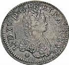 Photo numismatique  ARCHIVES VENTE 2015 -26-28 oct -Coll Jean Teitgen ATELIER ROYAL DE METZ LOUIS XV (1715-1774)  922- Écu dit «vertugadin», Metz 1716.