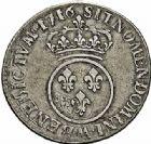 Photo numismatique  ARCHIVES VENTE 2015 -26-28 oct -Coll Jean Teitgen ATELIER ROYAL DE METZ LOUIS XV (1715-1774)  923- 1/2 écu dit «vertugadin», Metz 1716.