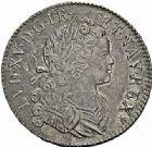 Photo numismatique  ARCHIVES VENTE 2015 -26-28 oct -Coll Jean Teitgen ATELIER ROYAL DE METZ LOUIS XV (1715-1774)  924- Écu de Navarre ou «westphalien», Metz 1718.