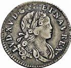 Photo numismatique  ARCHIVES VENTE 2015 -26-28 oct -Coll Jean Teitgen ATELIER ROYAL DE METZ LOUIS XV (1715-1774)  926- 1/10ème d'écu de Navarre, Metz 1718.