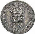 Photo numismatique  ARCHIVES VENTE 2015 -26-28 oct -Coll Jean Teitgen ATELIER ROYAL DE METZ LOUIS XV (1715-1774)  926- 1/10ème d'écu de Navarre, Metz 1718.