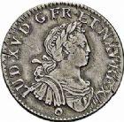 Photo numismatique  ARCHIVES VENTE 2015 -26-28 oct -Coll Jean Teitgen ATELIER ROYAL DE METZ LOUIS XV (1715-1774)  933- 1/4 d'écu aux huit L, Metz 1725.