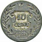 Photo numismatique  ARCHIVES VENTE 2015 -26-28 oct -Coll Jean Teitgen MONNAIES MODERNES MESSINES LOUIS-PHILIPPE Ier (9 août 1830-24 février 1848)  973- Essai monométallique 10 centimes 1838.