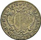 Photo numismatique  ARCHIVES VENTE 2015 -26-28 oct -Coll Jean Teitgen JETONS ET MÉDAILLES MESSINS MAITRES ECHEVINS  976- Jeton de Thomas de Bérard, maître-échevin (1), 1678.