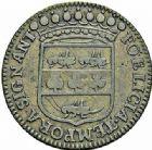 Photo numismatique  ARCHIVES VENTE 2015 -26-28 oct -Coll Jean Teitgen JETONS ET MEDAILLES MESSINS MAITRES ECHEVINS  977- Jeton de Thomas de Bérard, maître-échevin (2), 1680.