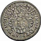 Photo numismatique  ARCHIVES VENTE 2015 -26-28 oct -Coll Jean Teitgen JETONS ET MÉDAILLES MESSINS MAITRES ECHEVINS  980- Jeton de Henri Poutet, 1686.