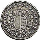 Photo numismatique  ARCHIVES VENTE 2015 -26-28 oct -Coll Jean Teitgen JETONS ET MEDAILLES MESSINS MAITRES ECHEVINS  981- Jeton de Pierre Philippe Pantaléon.