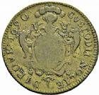 Photo numismatique  ARCHIVES VENTE 2015 -26-28 oct -Coll Jean Teitgen JETONS ET MEDAILLES MESSINS MAITRES ECHEVINS  982- Jetons de Louis-François Jeoffroy, 1690 (2).