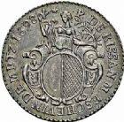 Photo numismatique  ARCHIVES VENTE 2015 -26-28 oct -Coll Jean Teitgen JETONS ET MÉDAILLES MESSINS MAITRES ECHEVINS  984- Jeton de Pierre de Rissan, 1698.